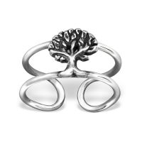 Ear clip tree 925 silver ladies