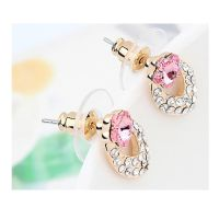 Ohrstecker Blossom Gold Messing Damen