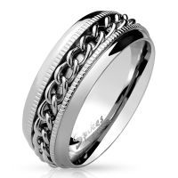 62 (19.7) Bungsa © SPINNER RING stainless steel...