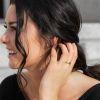 57 (18.1) Bungsa© goldener RING für Damen & Herren - Gold - Damenring aus EDELSTAHL matt - edler Edelstahlring geeignet als Verlobungsringe, Freundschaftsringe & Partnerringe