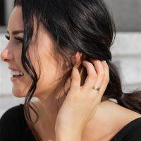 67 (21.3) Bungsa© goldener RING für Damen &...