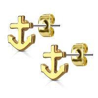Gold - anchor silver anchor made of stainless steel ladies