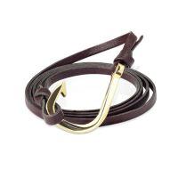 Bracelet hook brown unisex
