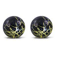 Ohrstecker Perle abstraktes Muster 8mm Silber aus...