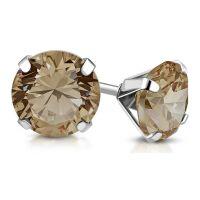 Ohrstecker Kristall 10 mm aus Edelstahl Damen