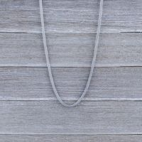 Chain woven of stainless steel unisex
