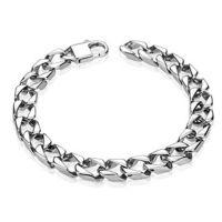 Armband Königskette Silber aus Edelstahl Unisex