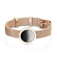 Bracelet belt design silver made of stainless steel unisex